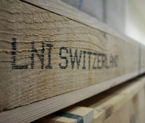 IPPC wooden crates from SWISS-TUBE