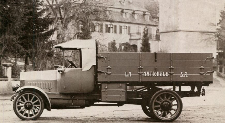 The first Truck od SWISS-TUBE!